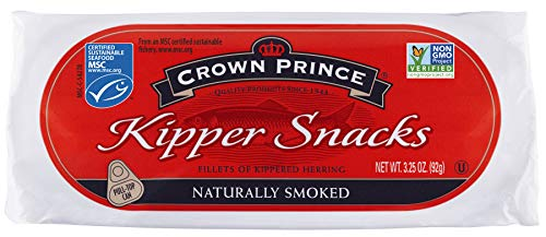 Crown Prince Kipper Snacks, 3.25 Ounce Cans (Pack of 18)