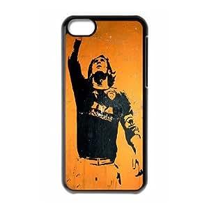 iPhone 5C Phone Case Black francesco totti RJ2DS6511592