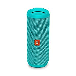 Jbl Flip 4 Waterproof Portable Bluetooth Speaker (teal), 2.6 Lb