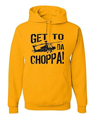 Get To Da Choppa Hoodie Sweatshirt for Adults, many colors