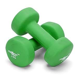 Maximo Fitness Mancuernas de Neopreno (Par) - Pesas de Mano Desarrollo de Fuerza,
