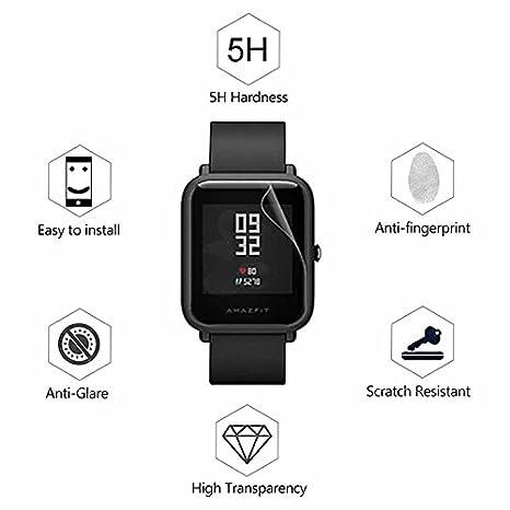 superior ZRL Smart sports Reloj TPU Protector de pantalla Ultra Thin Anti scratch Anti huella digital Anti explosión HD TPU Película para Huami Amazfit Bip ...