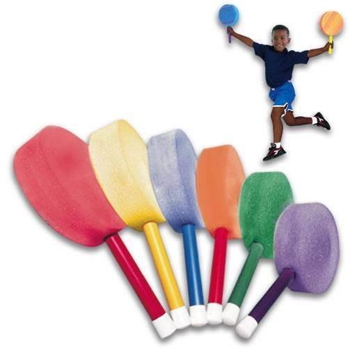 BSN Foam Badminton Paddles 12'' (SET) by BSN Sports