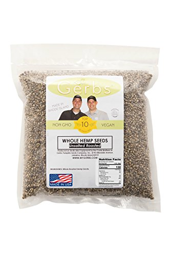 Roasted-Unsalted-Hemp-Seeds-In-Shell-by-Gerbs–4-LBS-Top-12-Food-Allergy-Free-Non-GMO-Vegan-Kosher–COG-Canada