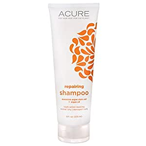 Acure Organics Natural Shampoo - Morrocan Argan Stem Cell + Argan Oil, 8 oz