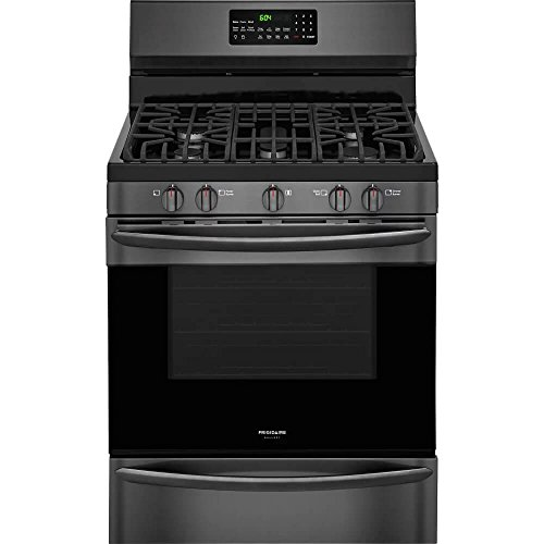 Frigidaire Gallery 30″ Black Stainless Steel Freestanding Gas Range