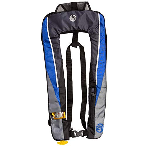 - SLIMLINE Advanced Inflatable PFD, Manual - 24g, (3F), Blue