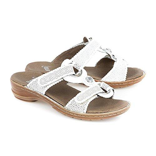 12 37244 Ara donna Ciabatte bianco sandali PIXqFXrx