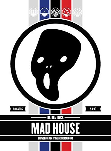 Mad House Battle Deck. Magic the Gathering Preconstructed Deck. 60 cards. ()