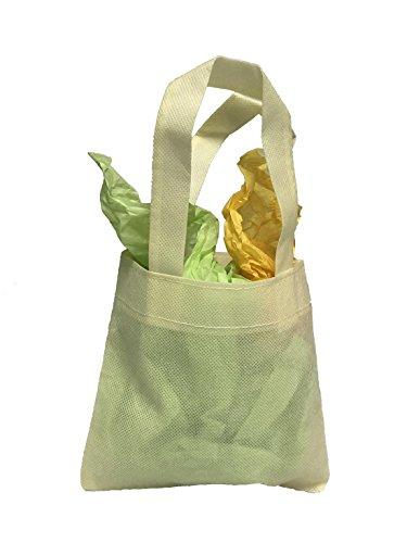 Reusable Mini Party Favor & Goodie Bags, Non-Woven Small Gif