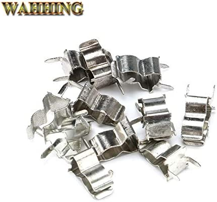 Cable Length: 100pcs Connectors 100pcs 520mm Fuse Clips Fuse Block Fuse Holder Clip DIP PCB Electronic 5x20mm Fuse Tube Insurance Clips HY047