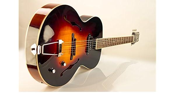 La Loar lh-309 Archtop guitarra Regular 888365210346: Amazon.es ...