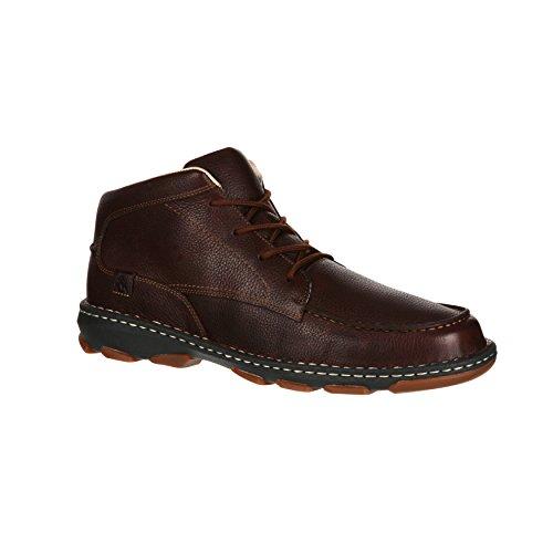 Rocky Mens Leather Cruiser Casual Chukka Boot-RKS0207 9PZSNE