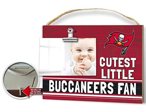 (KH Sports Fan Clip It Colored Baby Logo Photo Frame Tampa Bay Buccaneers)