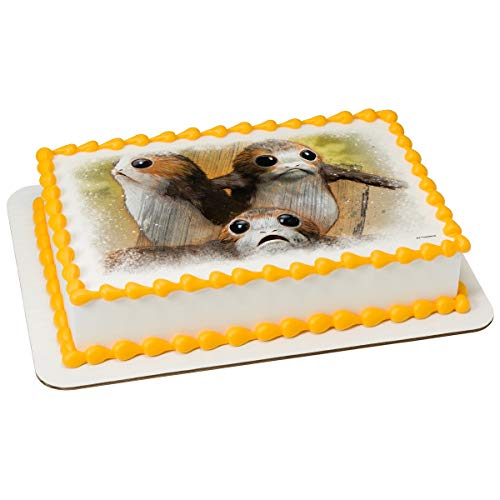 Star Wars Porg Edible Cake Topper Decoration (7.5