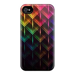 Top Quality Protection Color Peaks Case Cover For Iphone 4/4s