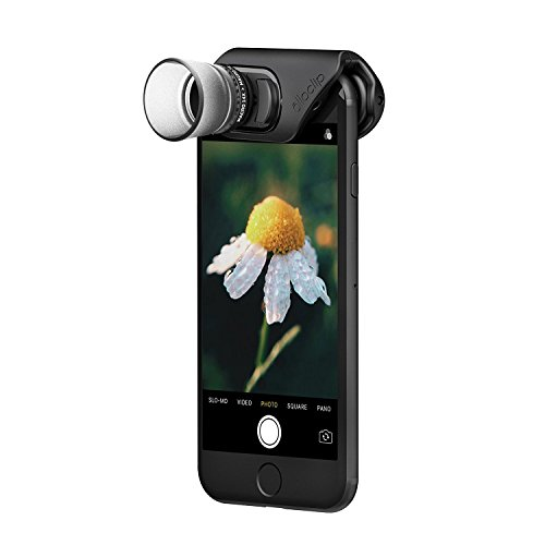 olloclip Macro PRO Lens Set - Compatible with iPhone 8/8 Plus & iPhone 7/7 Plus - 7X, 14x & 21x Premium Clip On Cell Phone Camera Lens Attachment