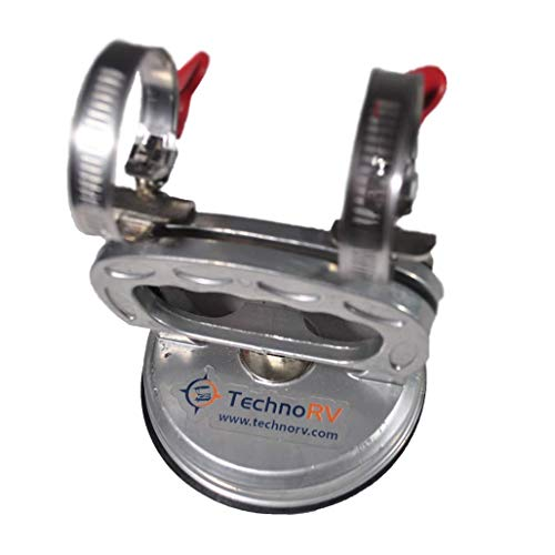 TechnoRV Suction Cup RV Antenna Mount (Best Suction Cup Mount)