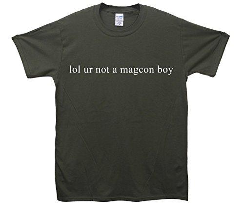 Lol ur Not A Magcon Boy T-Shirt - Khaki - XX-Large (127cm-132cm)