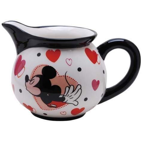 Westland Giftware Disney Sweet Kisses Mickey Ceramic Creamer, 8 oz, -