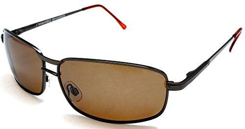 Men's Polarized Wide Navigator Aviator Style Sunglasses - James Dean Racer - Sunglasses Navigator