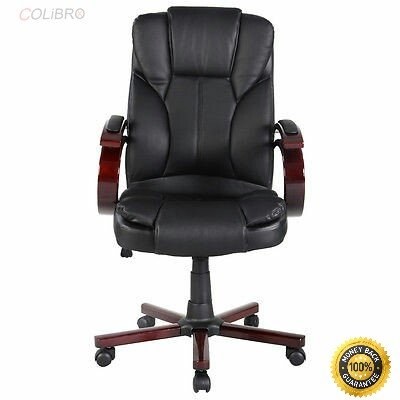 COLIBROX--Ergonomic Desk Task Office Chair High Back Executive Computer New Style Black Color: Black Load capacity: 396 LBS Overall dimension:23.62'' x 22.44'' x46.06'' (Highest) Backrest height: 25.98'' by COLIBROX