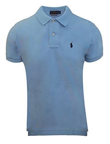 Ralph Lauren Polo Herren Poloshirt small Pony Custom Fit S-M-L-XL-XXL Outletware