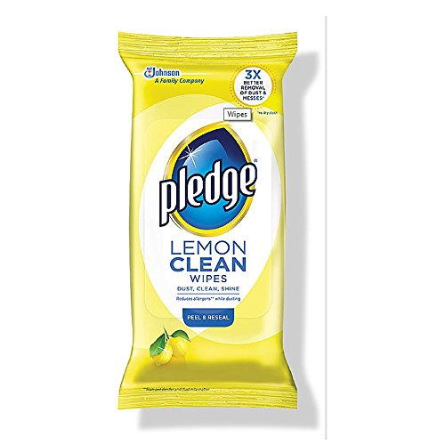 pledge wipes dust and allergen - 9
