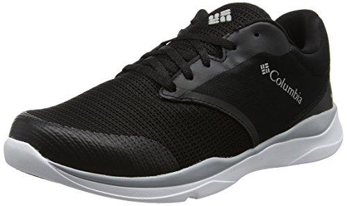 Columbia Men's ATS Lite Waterproof Trail Running Shoe, Black, Steam, 7.5 Regular US