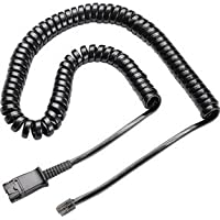 U10 Vista Bottom Adapter Cable Plantronics Compatible (Works With Cisco IP Phones 7931G 7940 7941 7942 7945 7960 7961 7962 7965 7970 and M12, M22 Amplifiers