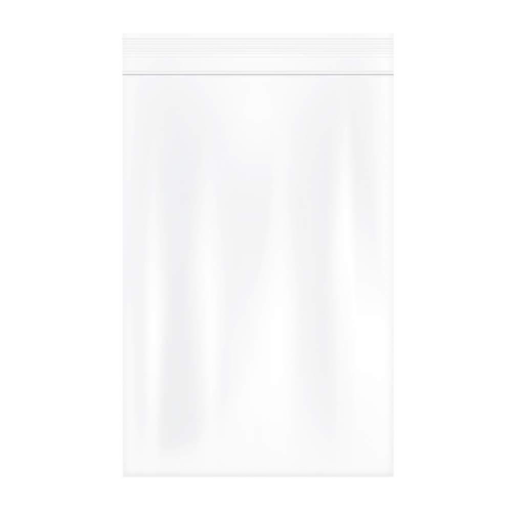 Herodada 4 x 6 200pcs Heavy Duty Resealable Plastic Bag Reclosable Zip Bags, Clear, 4Mil