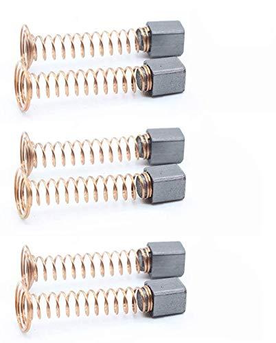 6pcs Carbon Motor Brushes Compatible for Dremel