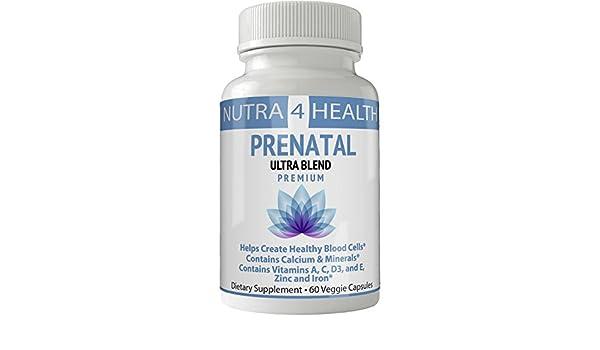 Amazon.com: Prenatal Postnatal Vitamins | Vitaminas Prenatales | Pastillas Prenatales | Ultra Blend - Complete Multivitamin & Mineral Complex For Pregnant ...