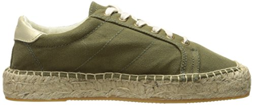 Scarpe Da Tennis Da Donna Di Tela Soludos Sandalo Verde Camo