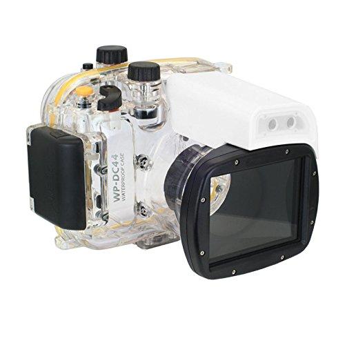 Meikon ド ダイビング定格 完全防水 水中カメラケース 40m 130ft (Canon G1X カノン レンズ デジタルカメラ 用)【並行輸入品】   B00V7L1Y6K