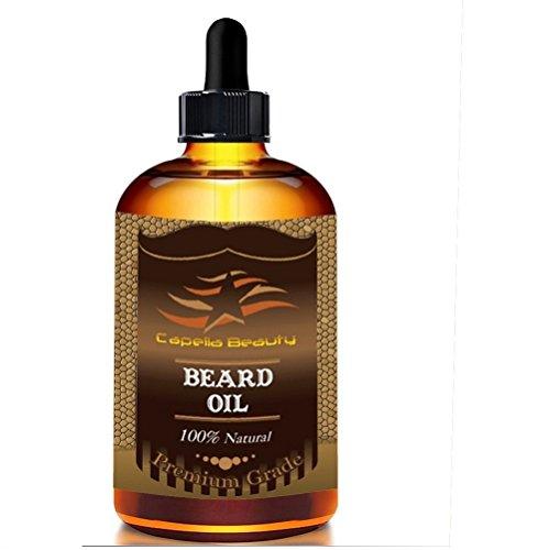 Armyshop Beard Oil For Men ? Grooms Beard, Mustache, Boosts Hair Growth. Makes (Stimulator Gallon)