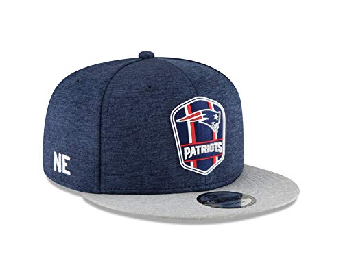 - New Era New England Patriots 2018 NFL Sideline Road Official 9FIFTY Snapback Hat