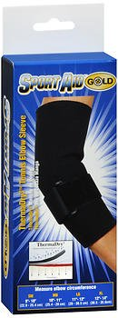 Sport Aid Gold ThermaDry3 Tennis Elbow Sleeve SM - 1 ea, Pack of 4 by SportAid
