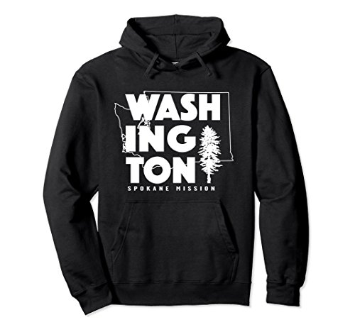 Unisex Washington Spokane Mission Hoodie Small - Shopping Spokane