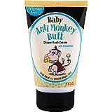 Anti Monkey Butt Baby Diaper Rash Cream | Treats Skin Irritation | Zinc Oxide Cream with Calamine | 3 Ounces