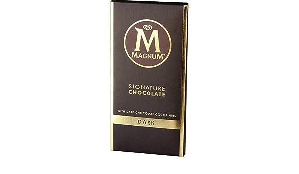 39e68684d Amazon.com   Magnum Signature Chocolate Dark Block