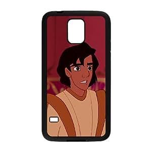 Samsung Galaxy S5 Cell Phone Case Black Disney Aladdin in Nasira's Revenge Character Nasira 002 JSY4246086KSL