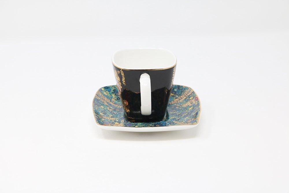 Tazzina da caff/è e piattino Il Bacio di Gustav Klimt Goebel 66884727