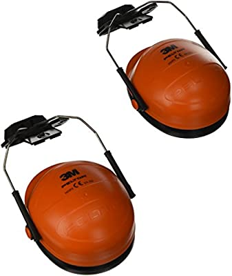3M PELTOR Orejeras para casco Naranjas 28 dB (1 orejera/caja ...