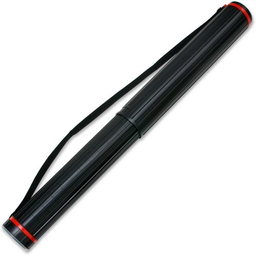 CHARLTUBE - Chartpak 948 72/124 Carrying Case for Document - Black