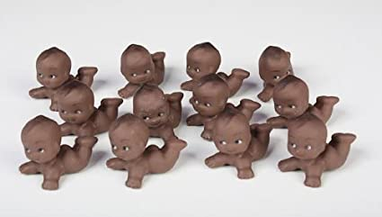 Amazon Com African American Kewpie Babies For Baby Shower Favors