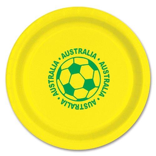 Beistle 58006-AUS 8-Pack Plates, 9-Inch, (Child Costumes Australia)