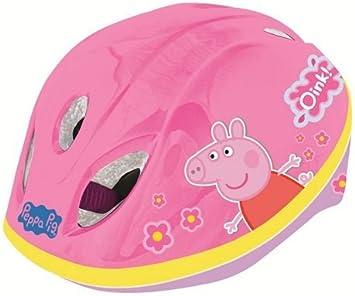 Nuevo Peppa Pig Kids Girls bicicleta casco de seguridad (48 cm ...