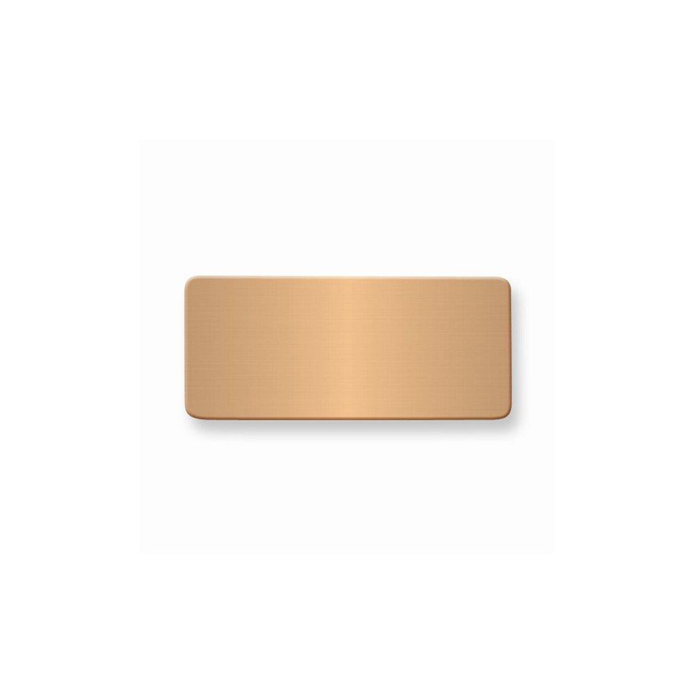 11/16 x 1 9/16 Copper Alum Plates-Sets of 6
