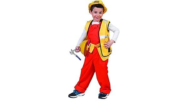Disfraz albañil niño - De 6 a 8 años: Amazon.es: Juguetes y ...
